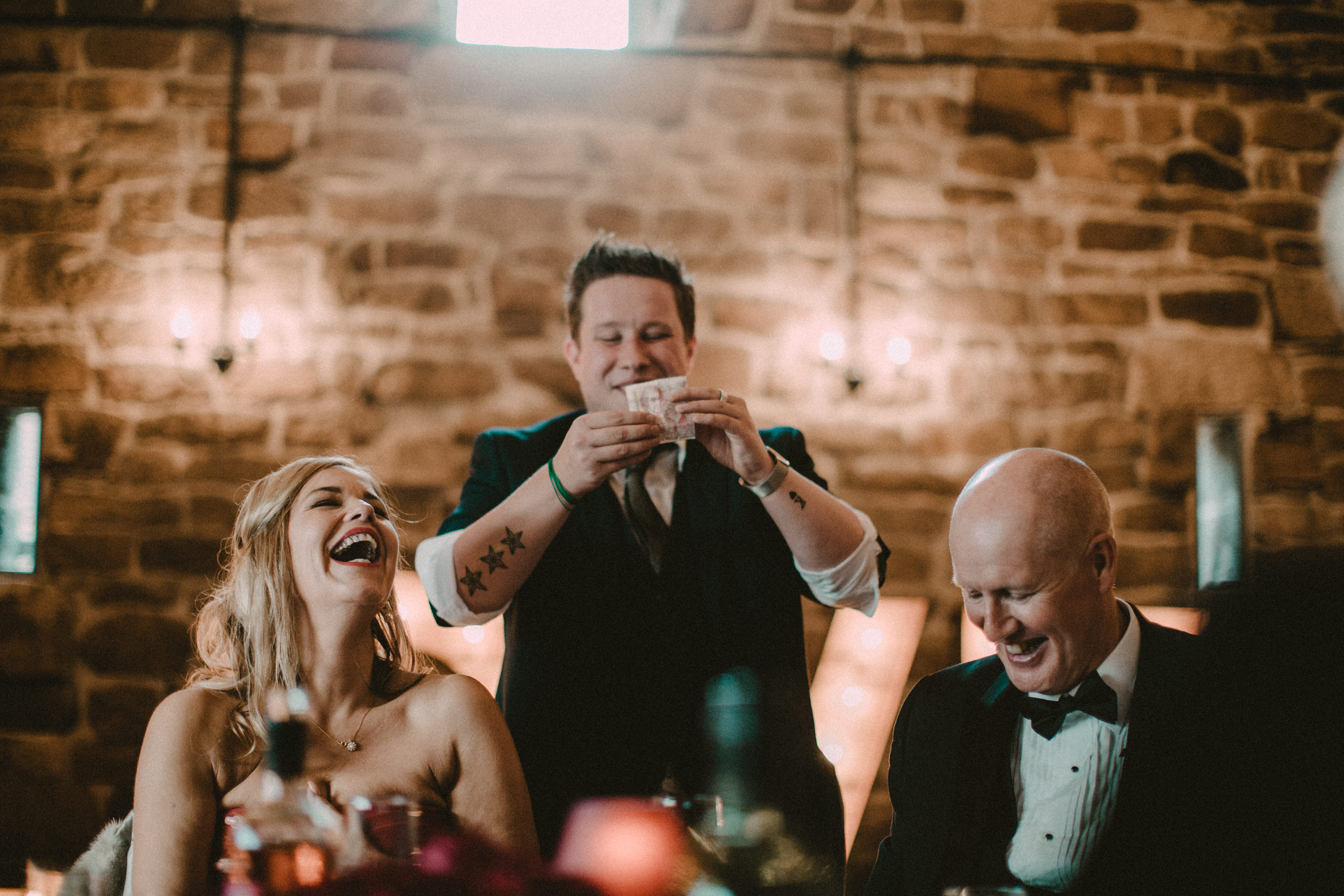 Wedding entertainment - magician Mark Waddington