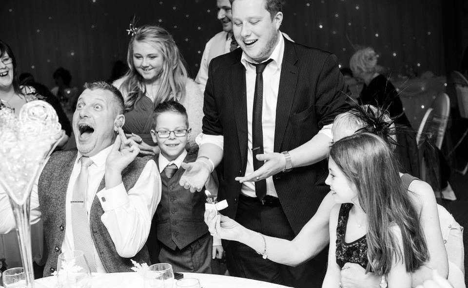 Wedding magician Leeds