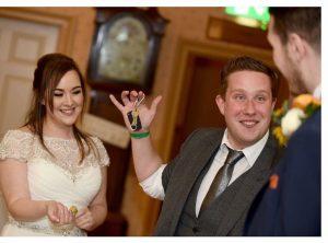 Wedding magician Mark Waddington at Weetwood Hall Leeds