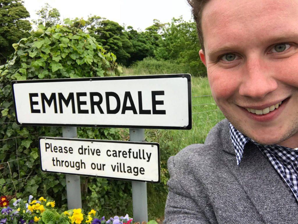 Leeds magician in Emmerdale